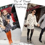 Try A Trend: Horse Print Clothing Like Kourtney Kardashian