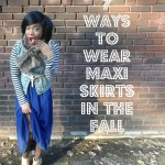 VIDEO: 7 Ways to Wear Maxis in the Fall