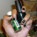 Perfectly Polished: I Made The Perfect Hunter Green Nail Polish